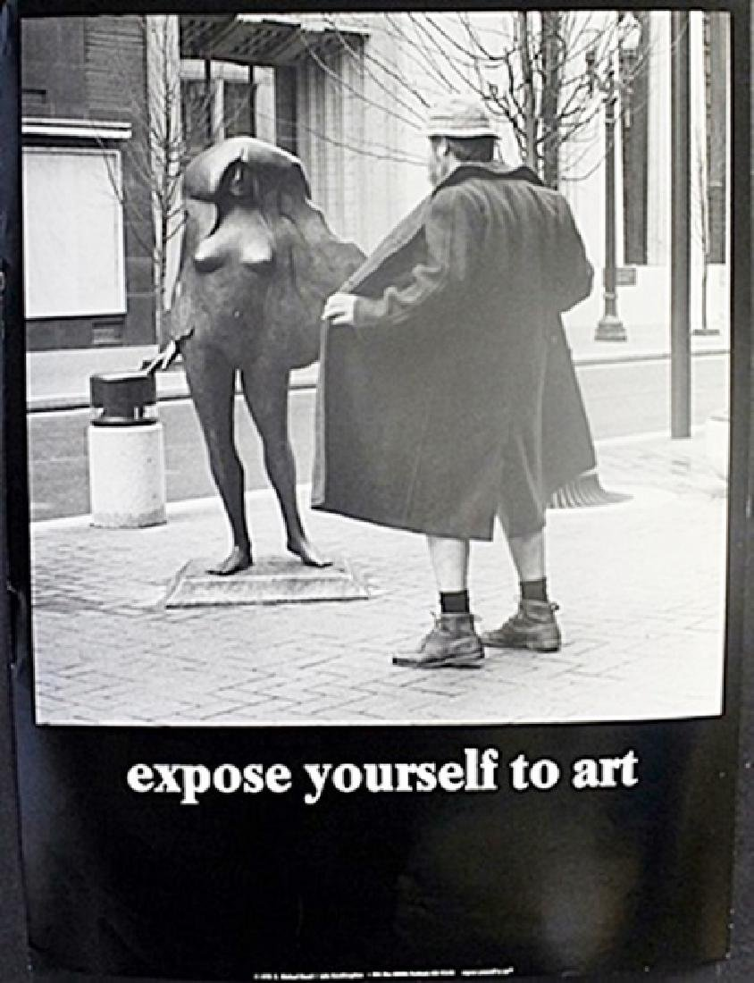 """Fine Art Print """"Expose yourself to Art"""" by Michael"""