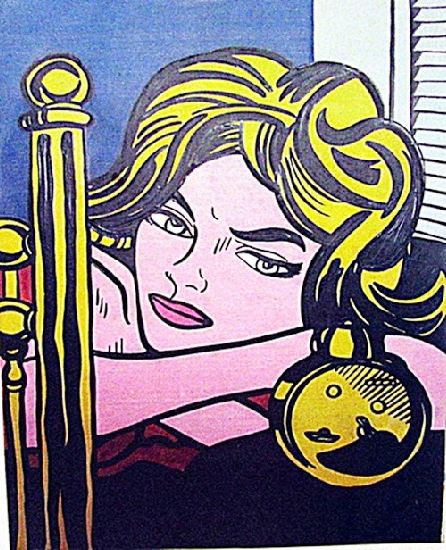 Roy Lichtenstein - I Know 1968 Oil