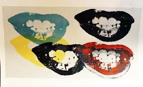 I Love Your Kiss Forever Forever - Andy Warhol
