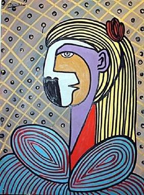 Jacqueline - Pablo Picasso - Oil On Canvas