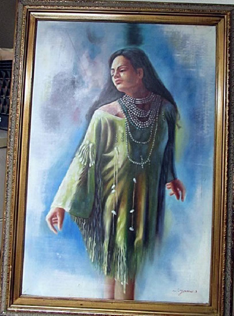 Oil on Canvas Unknown Artist