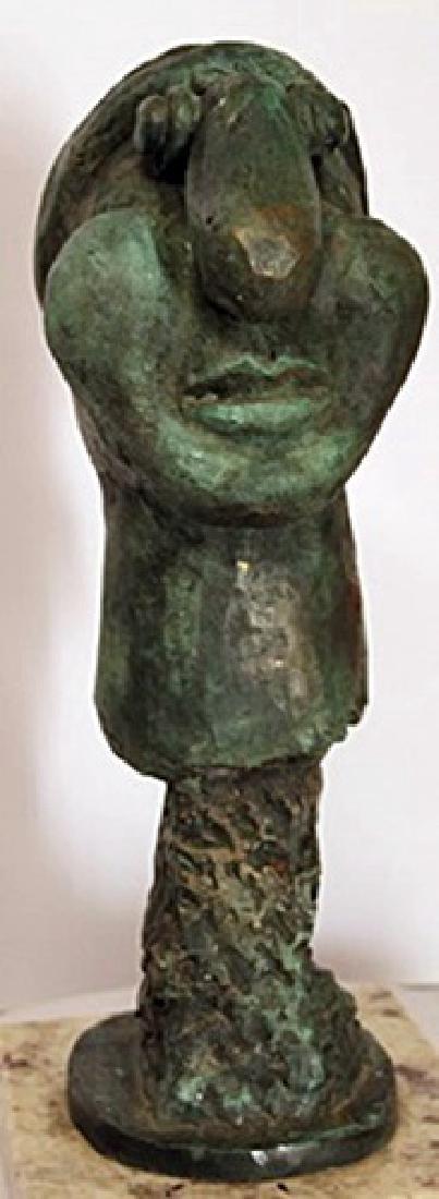 Limited Edition Patina Bronze Sculpture - Pablo Picasso