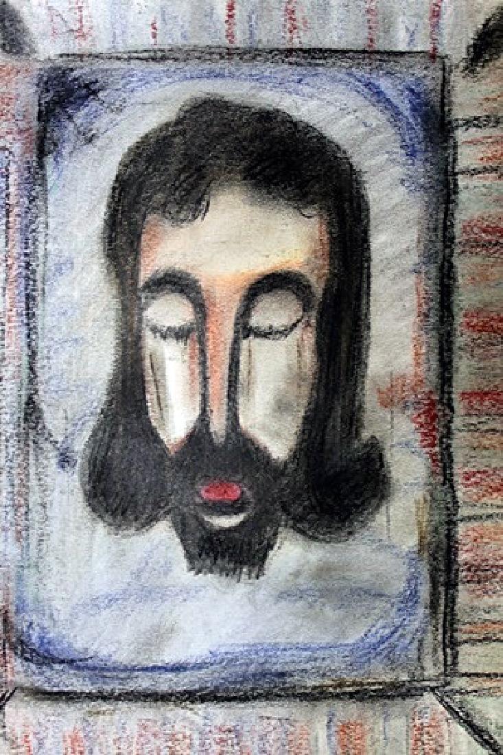 Jesus - Georges Rouault - Pastel on paper