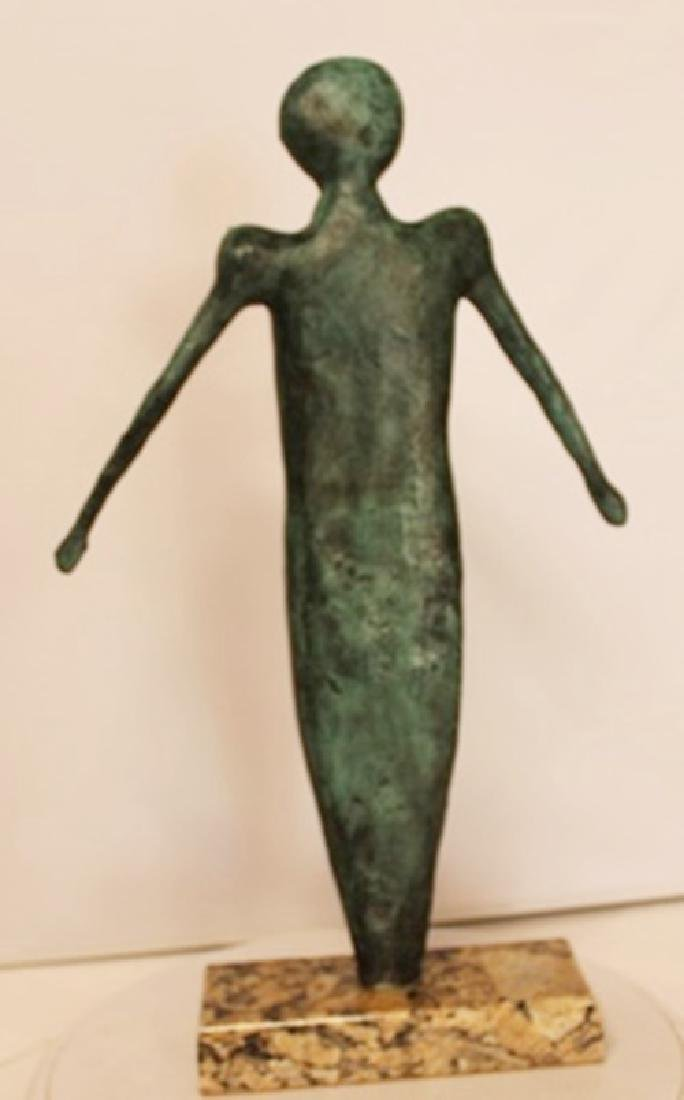 Patina Bronze Sculpture - Rufino Tamayo - 3