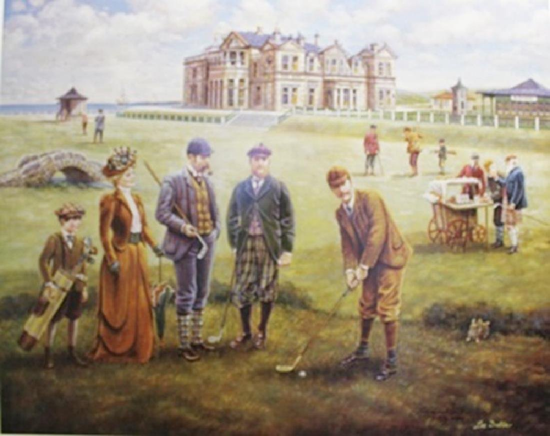 """St. Andrews Golf Course"" By Lee Dubin"