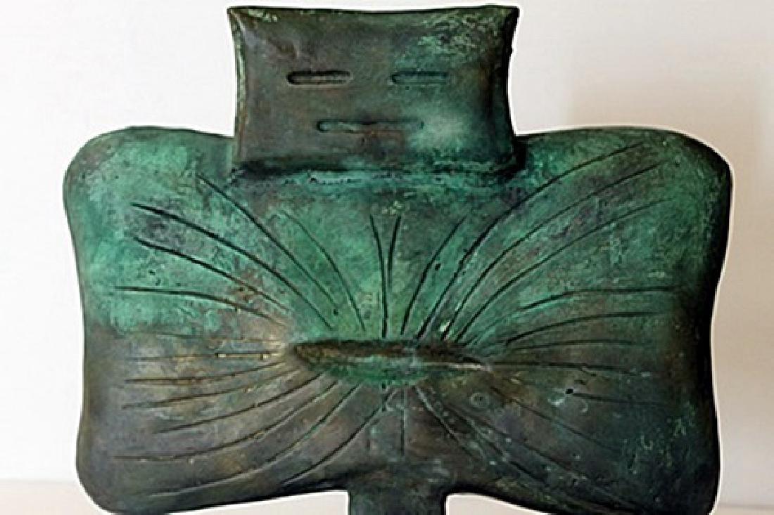 Patina Bronze Sculpture - Max Ernst - 2