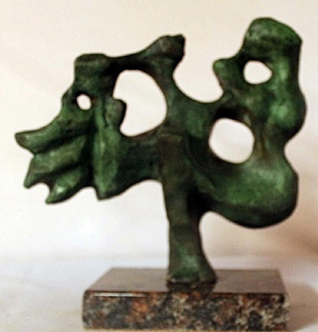 Patina Bronze Sculpture - Jaques Lipchitz