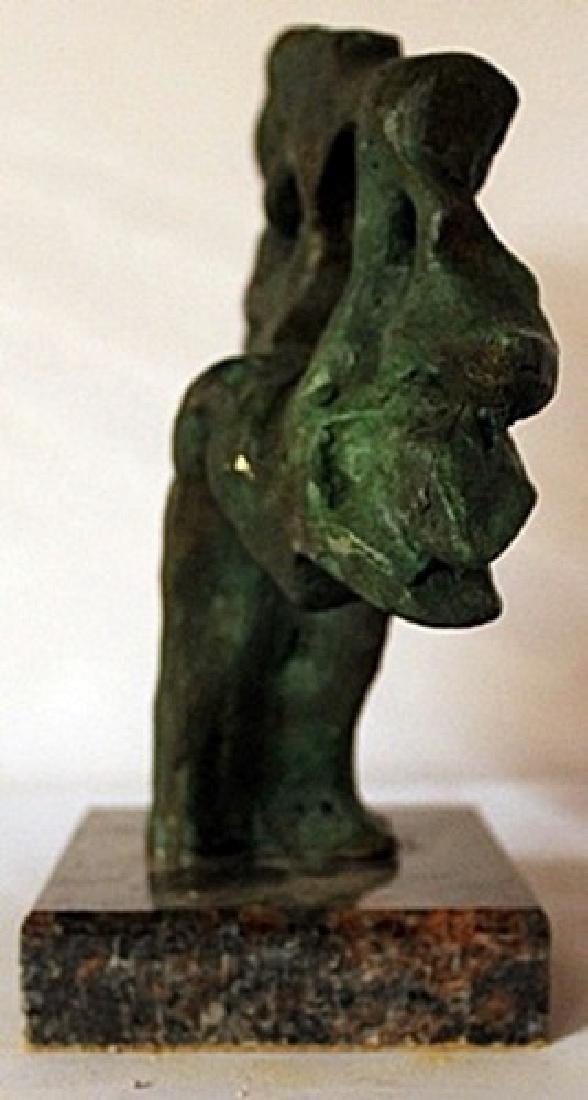 Patina Bronze Sculpture - Jaques Lipchitz - 2