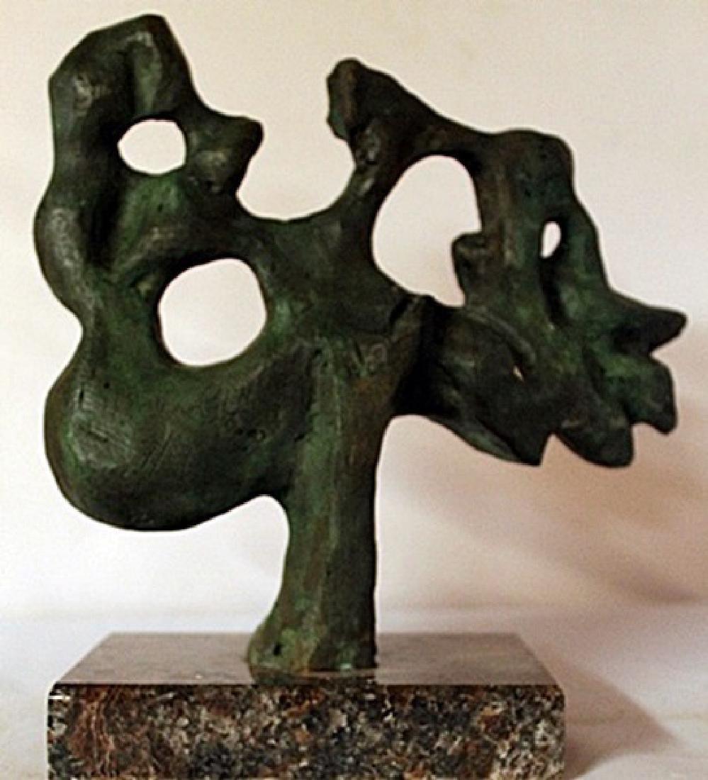 Patina Bronze Sculpture - Jaques Lipchitz - 3