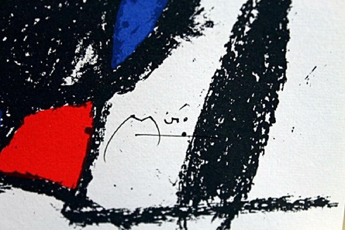 Signed Miro Lithograph - 2