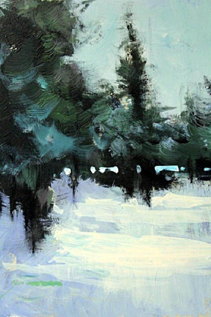 """CHRISTMAS PINE TREES"" BY MICHAEL SCHOFIELD"