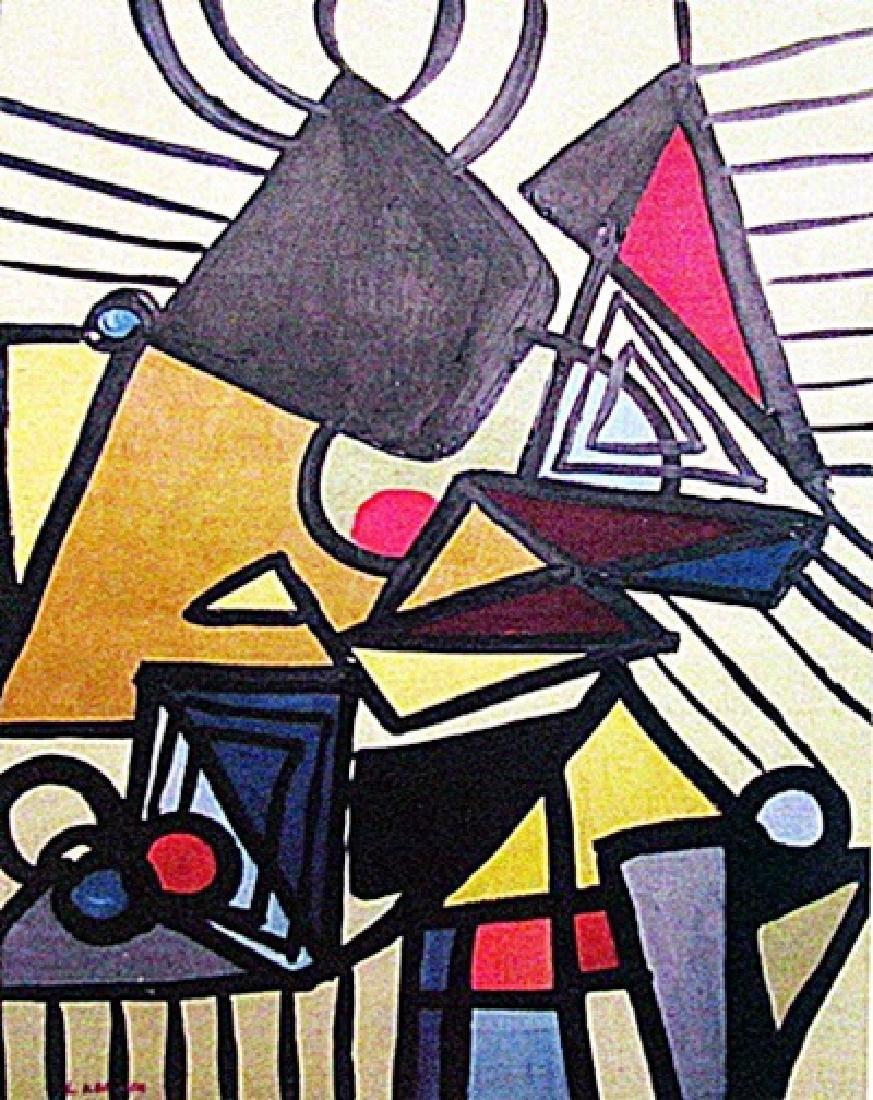 Lee Krasner - Composition 1933 Oil