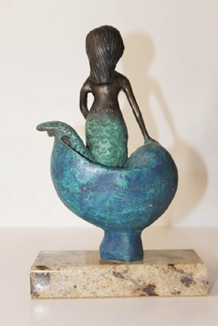 Mermaid - Bronze Sculp. - Sergio Bustamante - 3