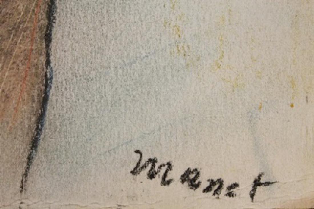 Edouard Manet - Lady Camillette 1879 Pastel - 2