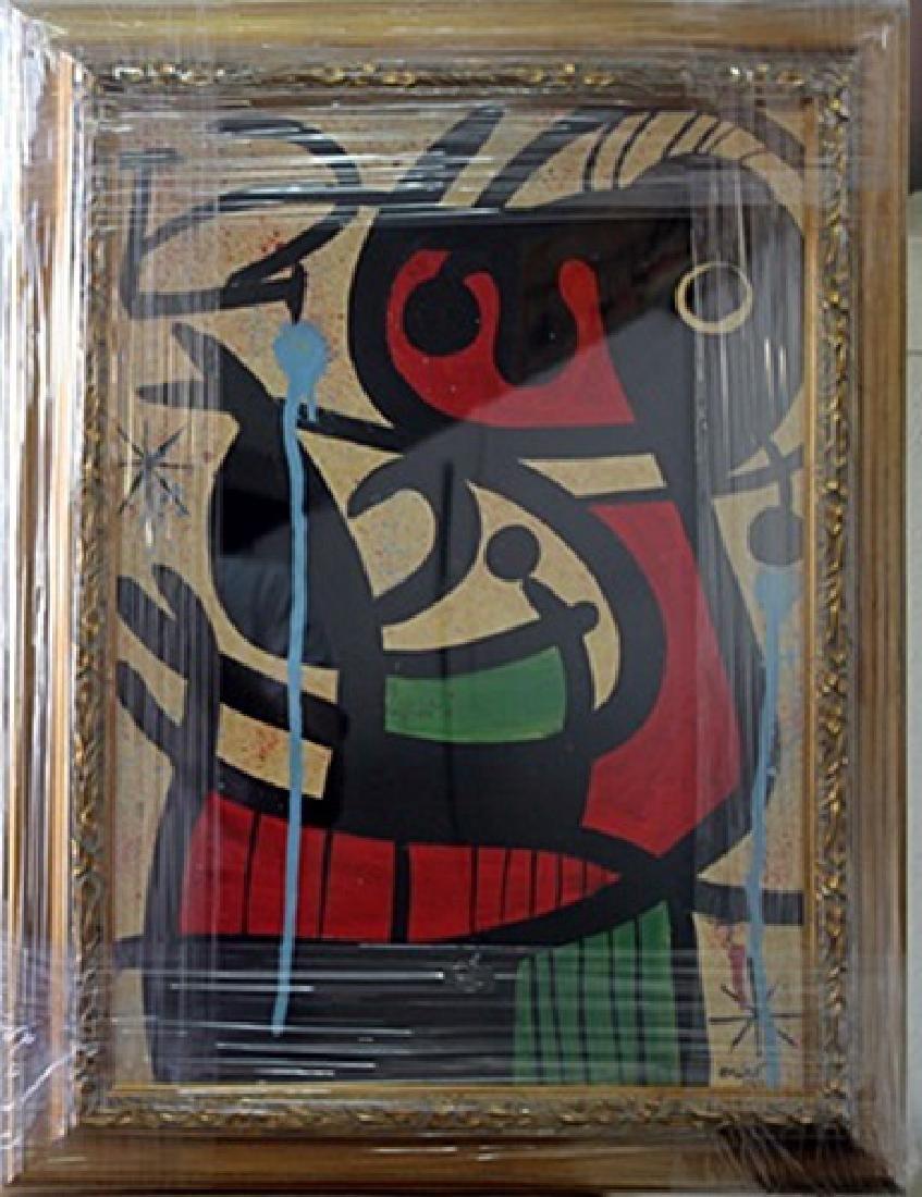 Signed Oil Joan Miro