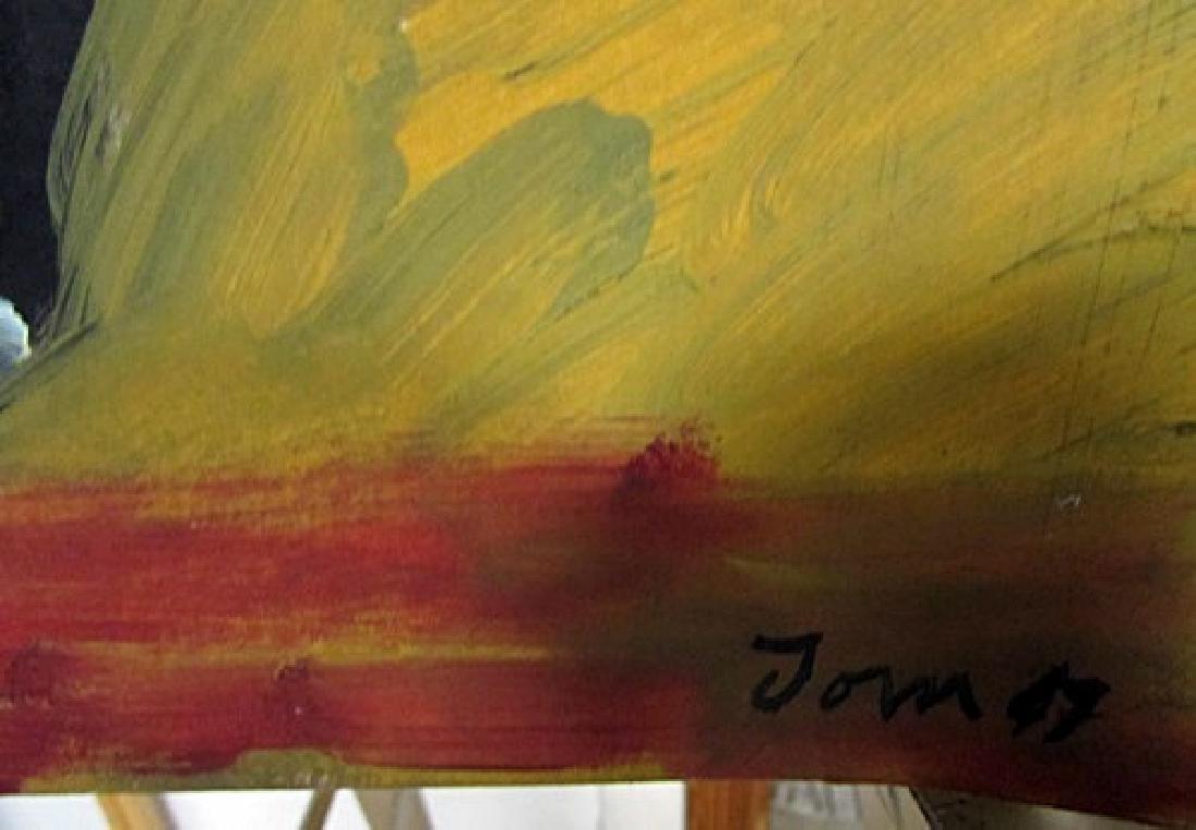 Asger Jorn - Untitled 1947 Oil on Paper - 2