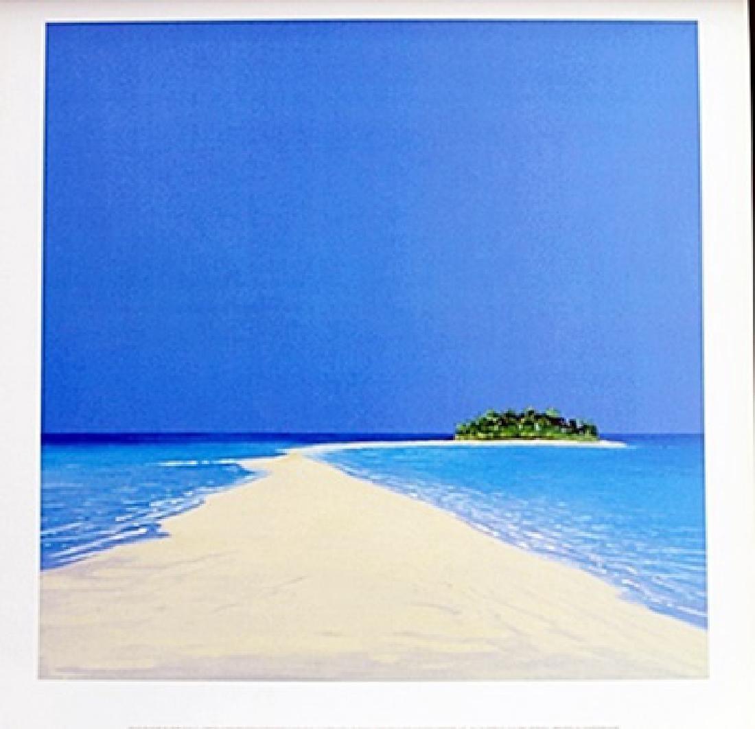 "Fine Art Print ""Island in the Sun II"" by Werner Erick"