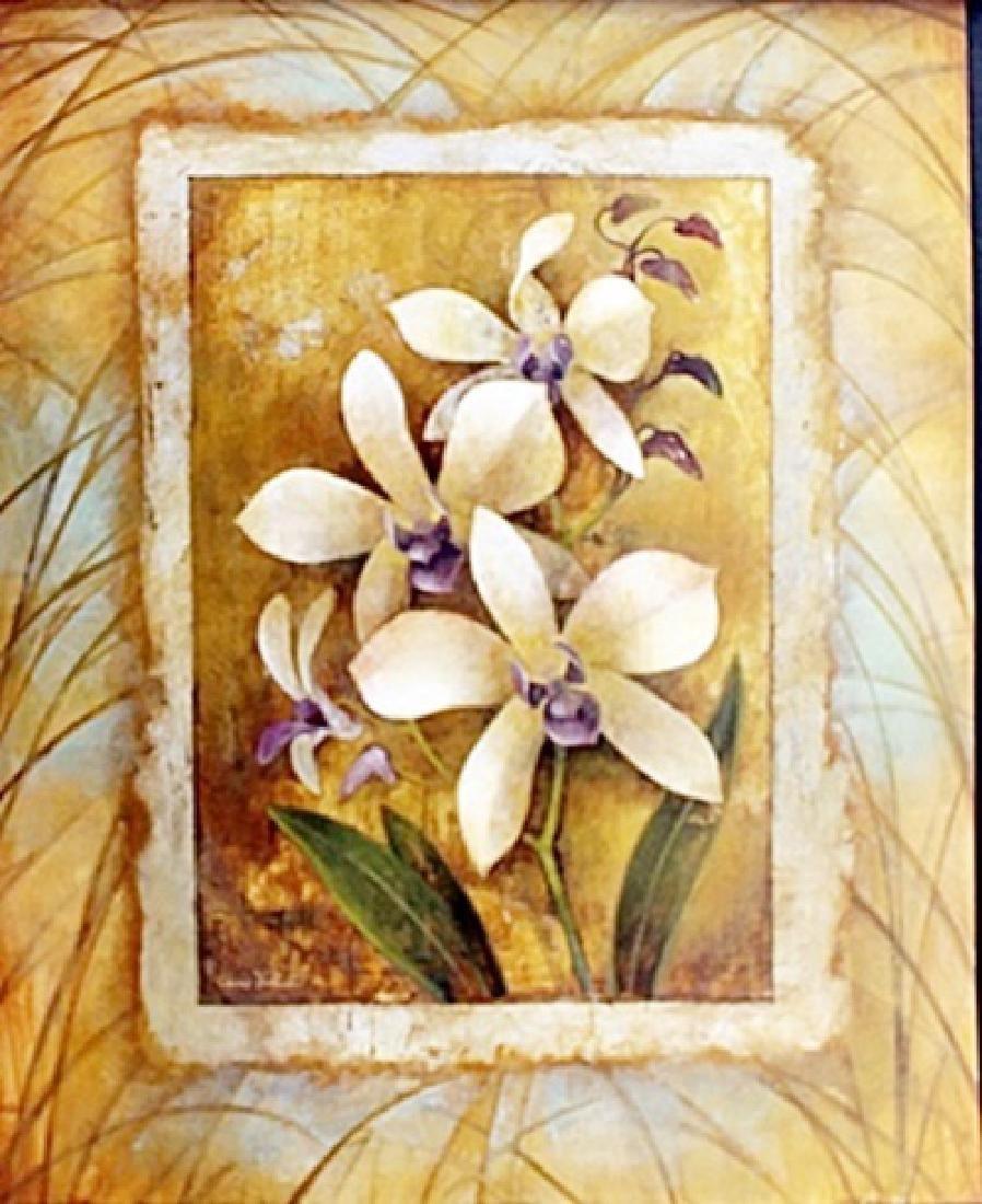 "Fine Art Print ""Illuminated Orchid I"" by Elaine"