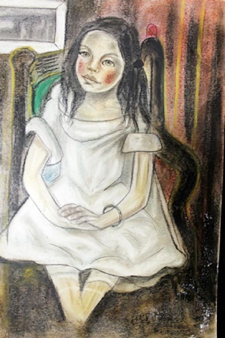 Rossie - Maria Blanchard - Pastel On Paper
