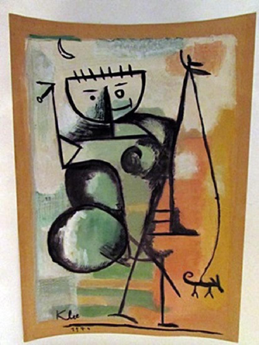Paul Klee - The Boy Watercolor