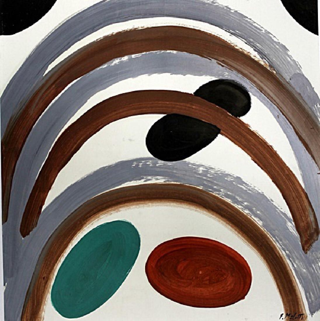 The Rocks - Fausto Melotti - Oil On Paper