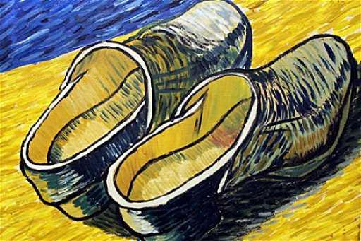 2328b08d5e Two Old Shoes - Vincent Van Gogh