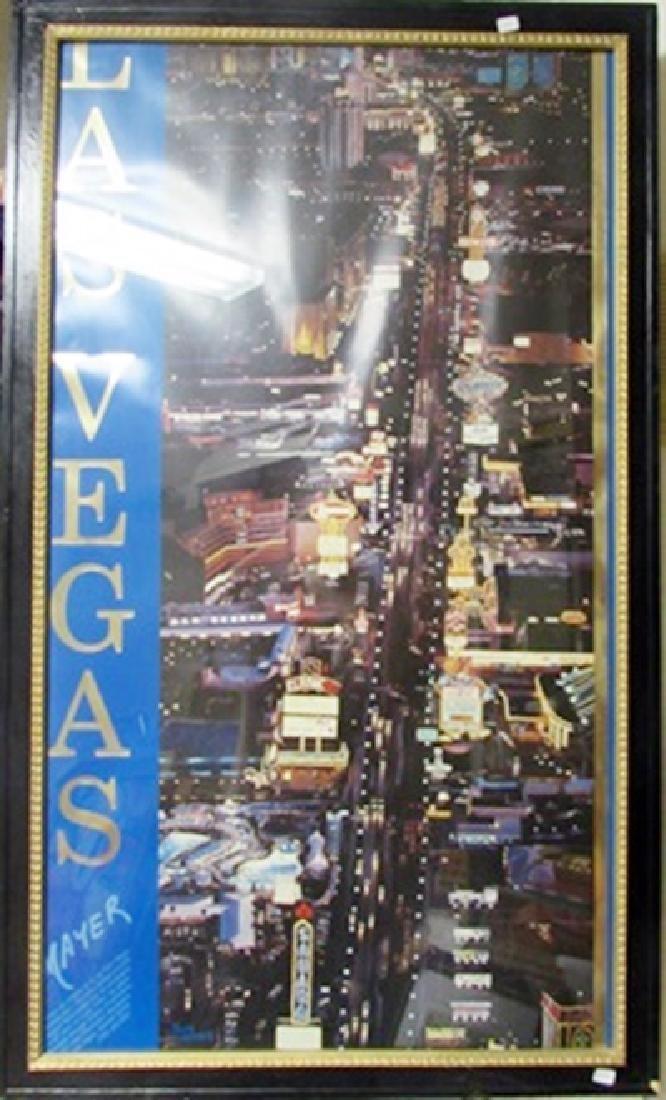 Hand Pulled Serigraph Mayer - Las Vegas