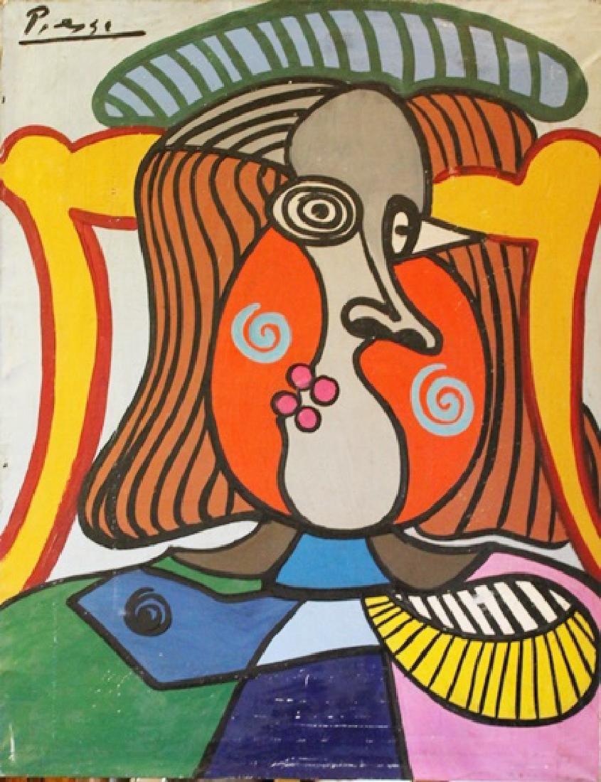 Oil on Canvas - Pablo Picasso