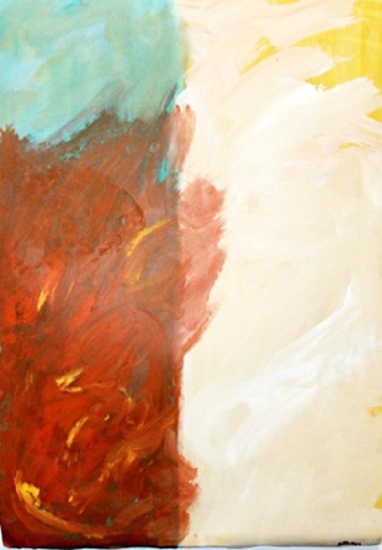 Divine - Theodoros Stamos - Oil On Paper