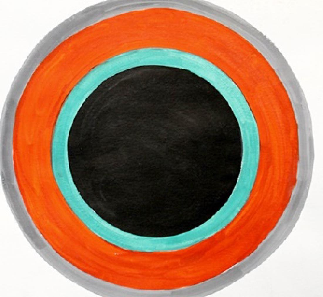 Circle - Kenneth Noland - Watercolor On Paper