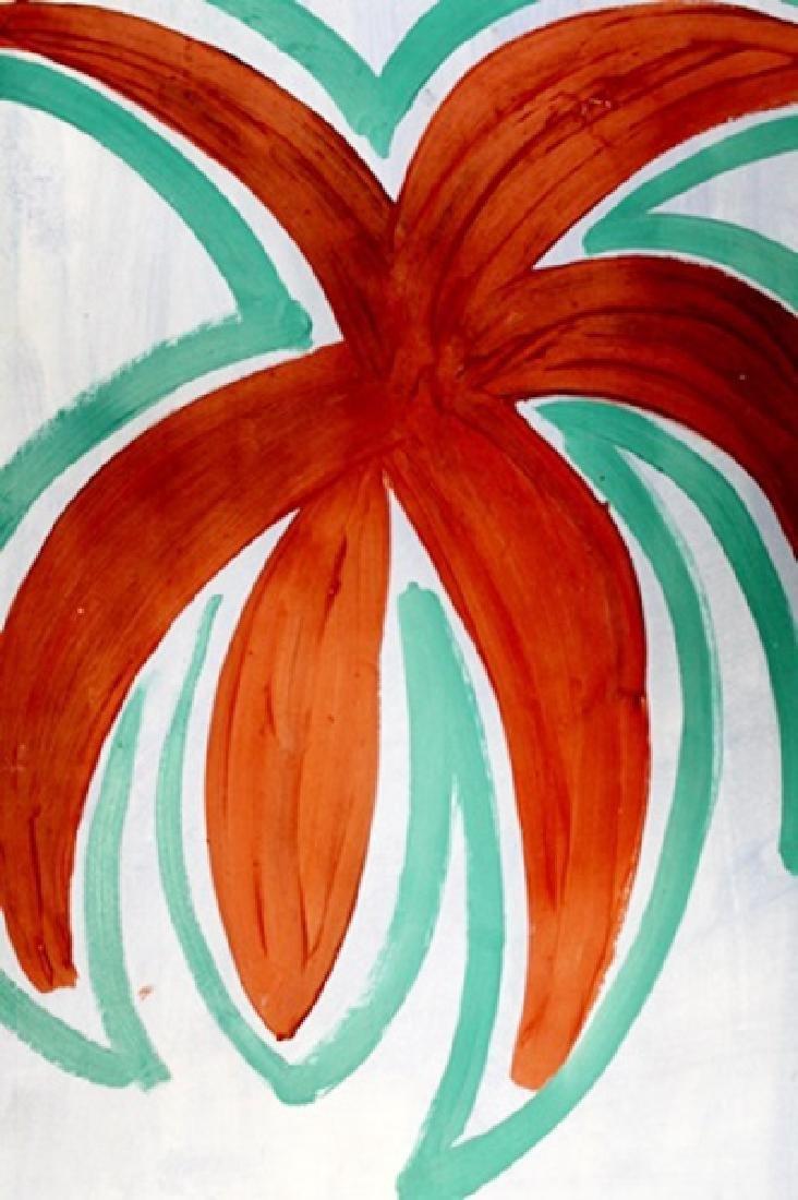 Summer -  Giulio Turcato - Oil on Paper