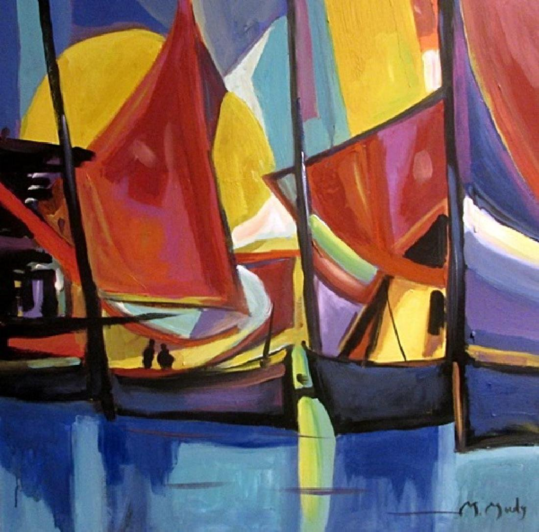 Oil On Canvas - Marcel Mouly 44F