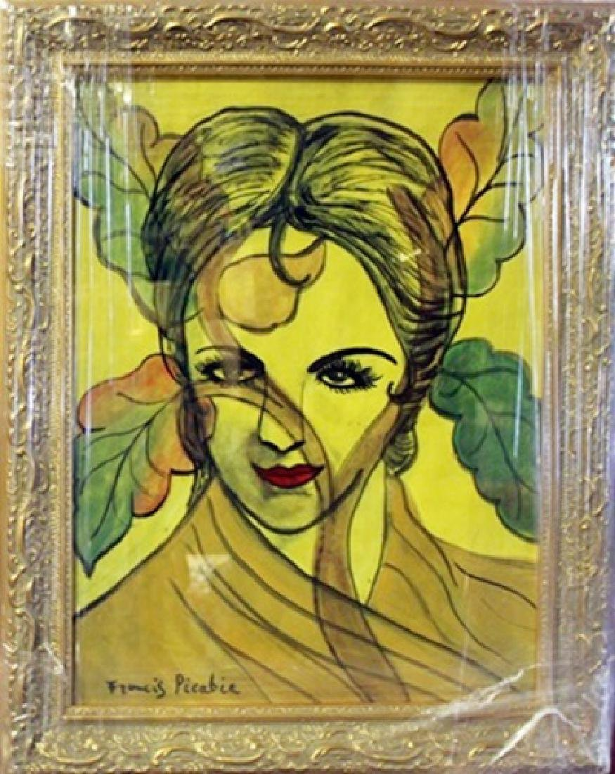 Signed Francis Picabia