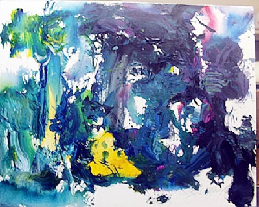 Original Hand Signed Michael Schofield Painting