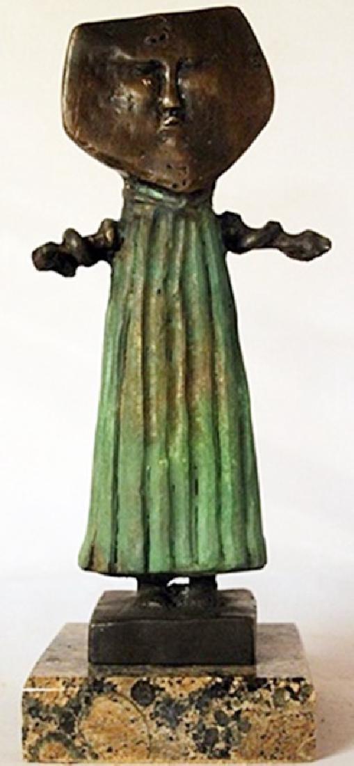 Patina Bronze Sculpture - Sergio Bustamante