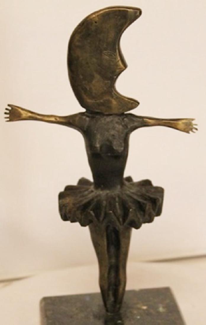 Danicing Moon - Bronze Sculpture - Sergio Bustamante