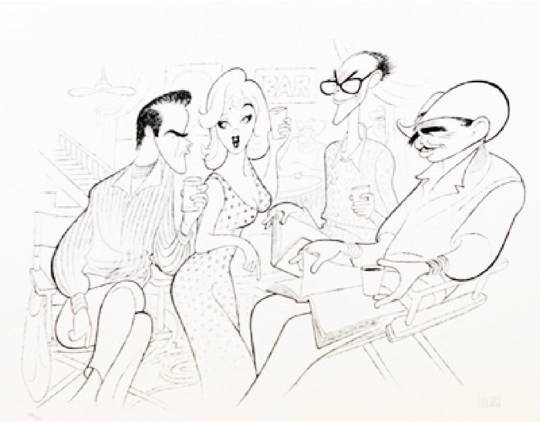 Hand Signed Limited Edition Al Hirschfeld