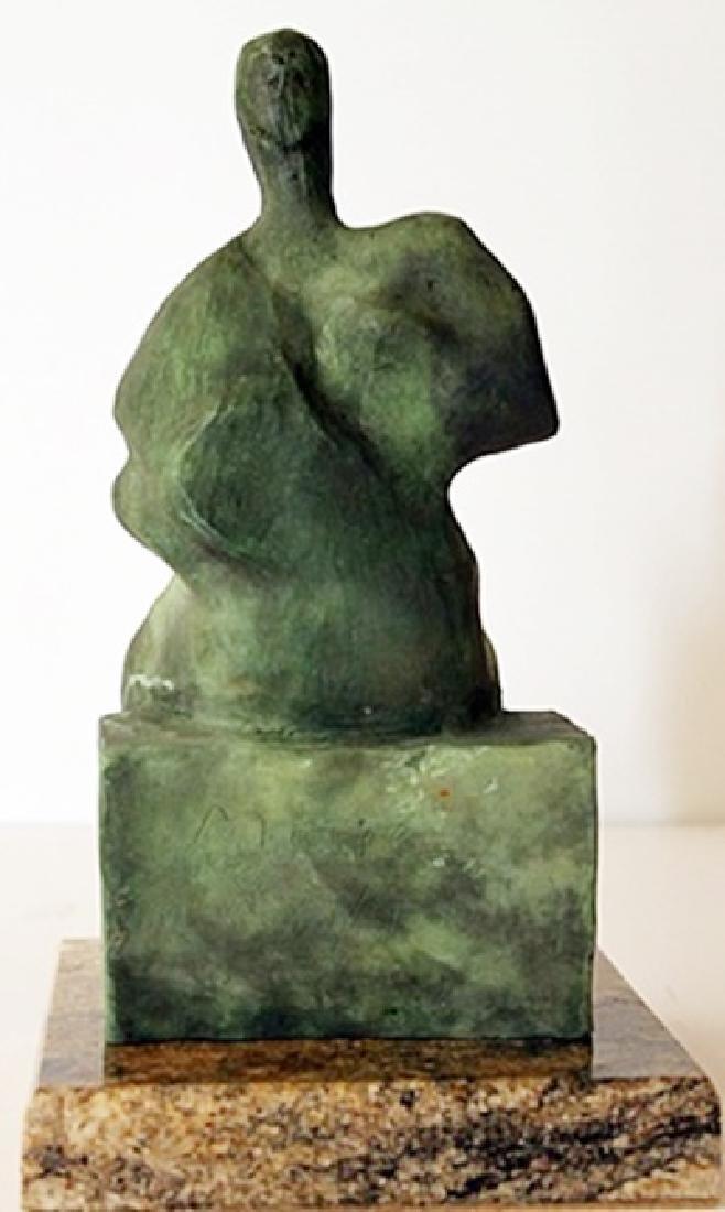 Patina Bronze Sculpture - Henry Moore - 3