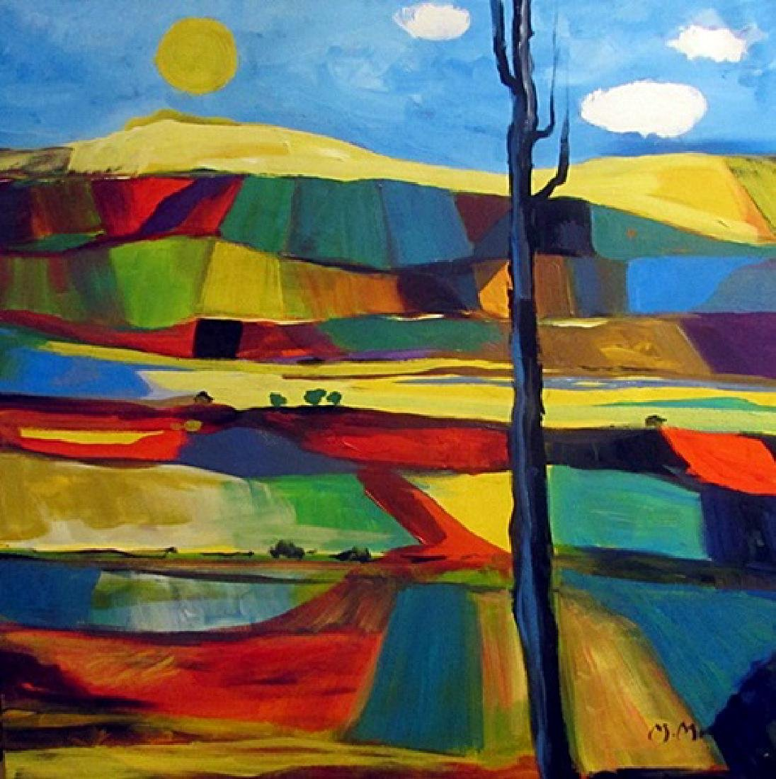 Oil On Canvas - Marcel Mouly 43F