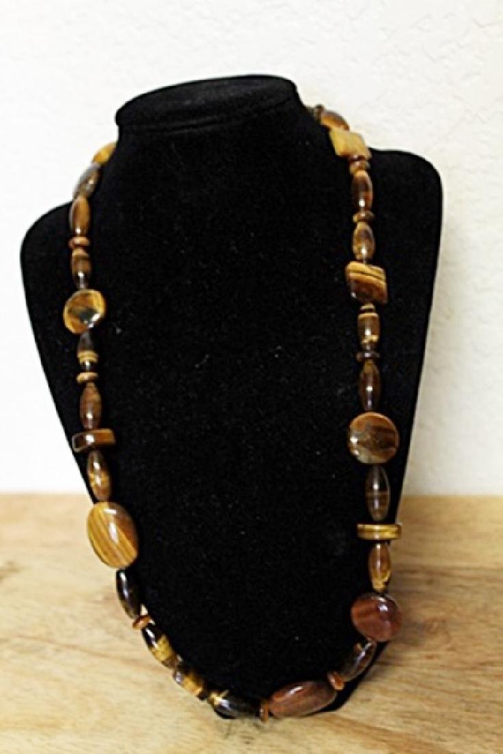 Fancy Tiger's Eye Necklace