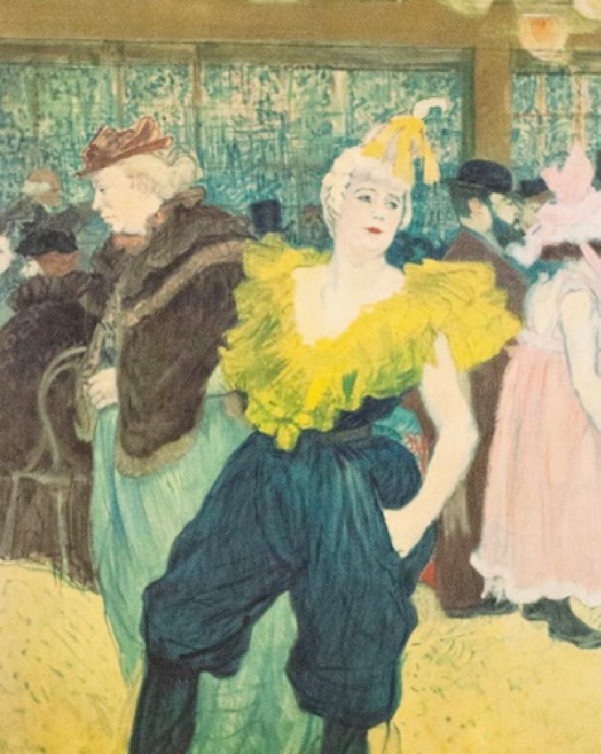 Limited Edition Lithograph Henri De Toulouse-Lautrec