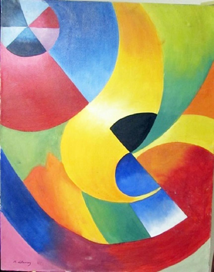 Robert Delaunay Oil on Canvas