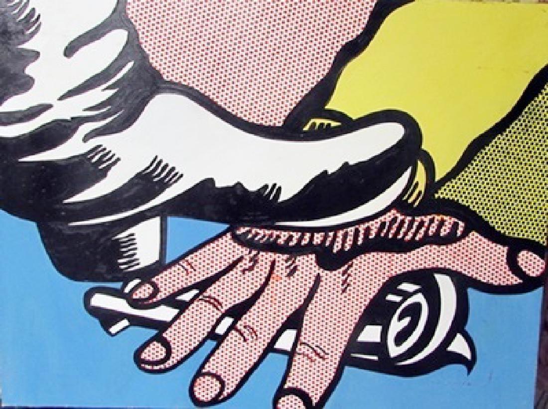 Oil on Canvas Roy Lichtenstein