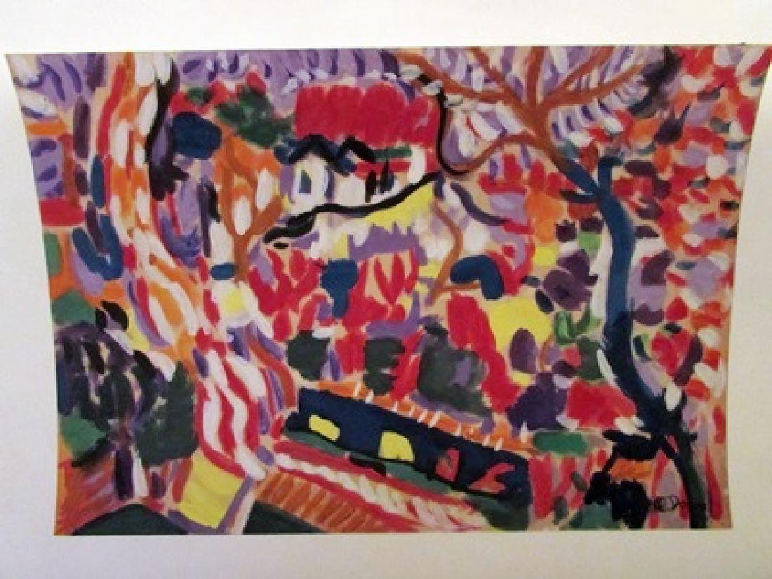 Andre Derain - The Jungle Watercolor