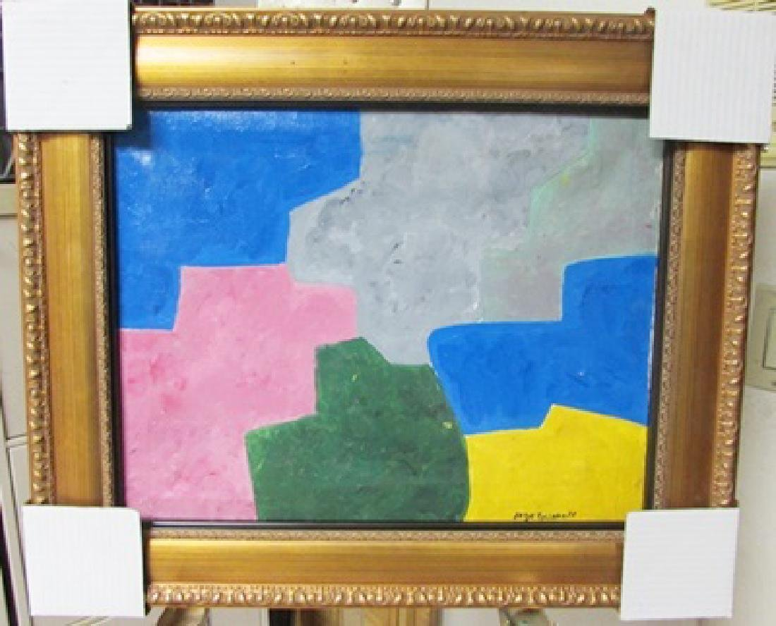 Serge Poliakoff - Composition Oil on Canvas