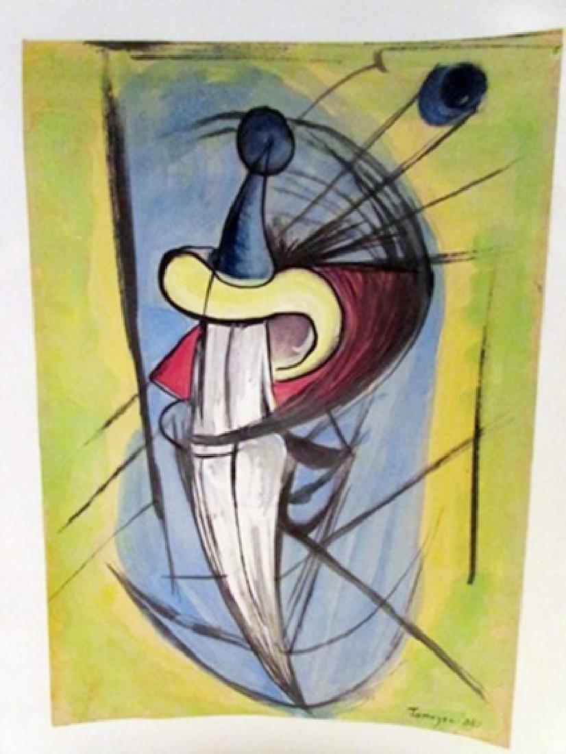 Rufino Tamayo - The Sword Watercolor