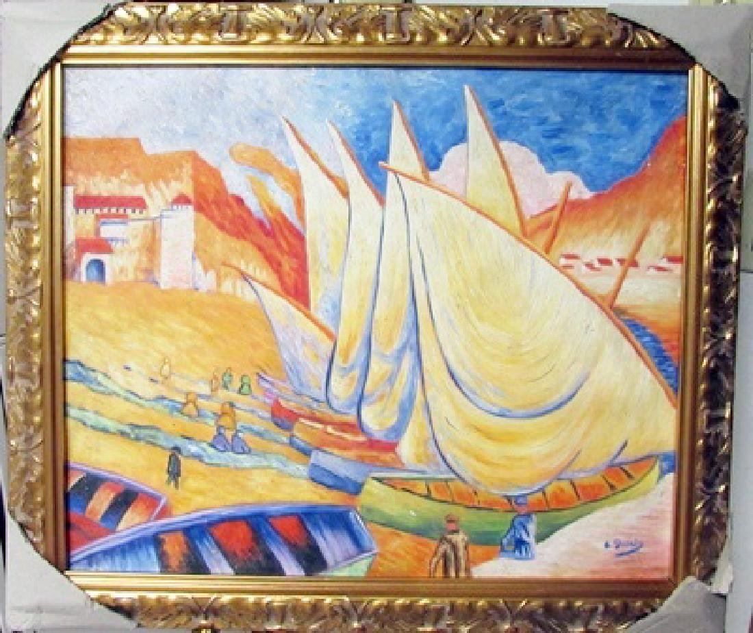 Andre Derain Oil on Canvas