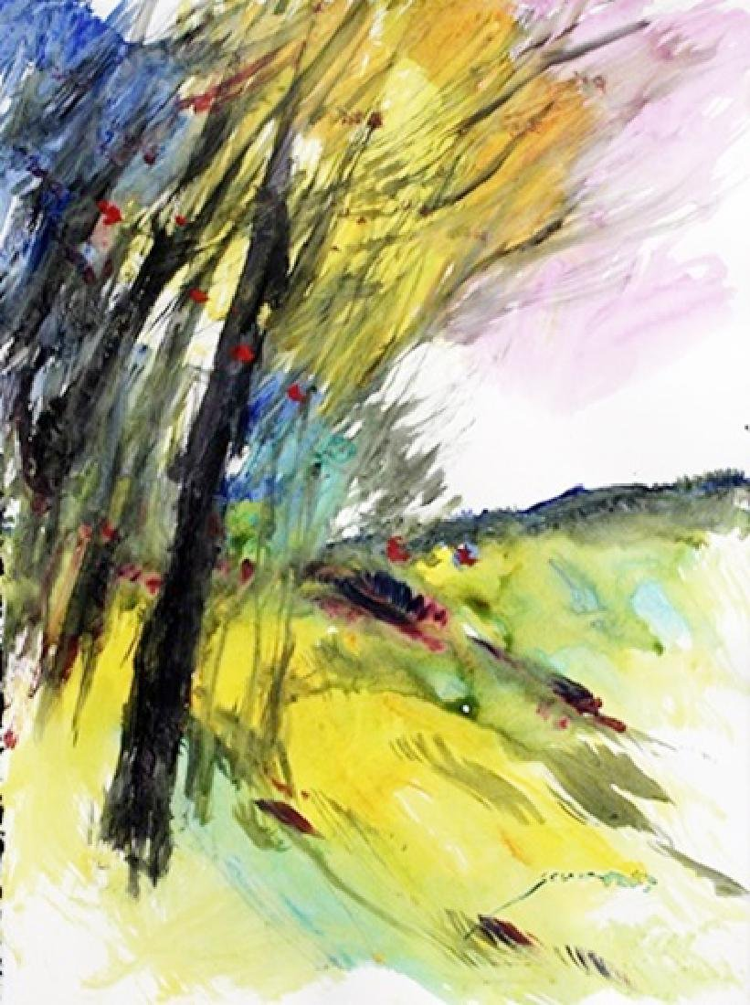 Michael Schofield - Spring Tree II - Watercolor