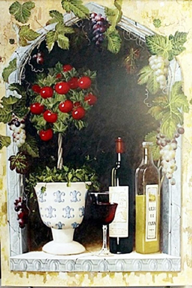 """Fine Art Print """"Olive Oil & Wine Arch II"""" by Welby"""