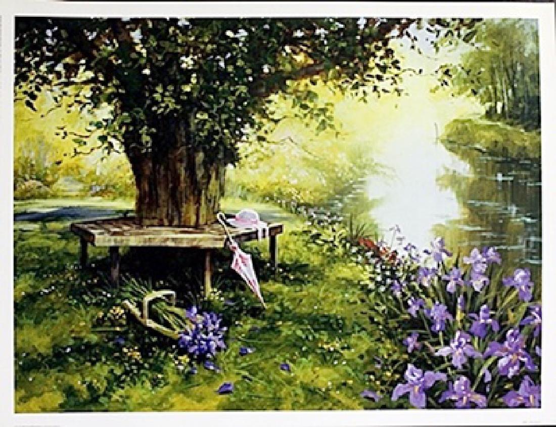 "Fine Art Print ""Fresh Picked Flowers"" by Richard"